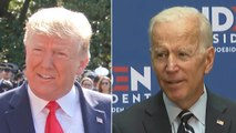 Trump, Biden trade barbs on China