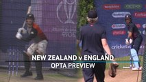 New Zealand v England - Opta preview