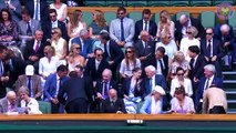 Digitally-cleared wrap from day 11 at Wimbledon