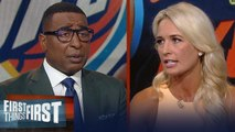 Sarah Kustok on reports Thunder, Heat in trade talks for Chris Paul _ NBA _ FIRST THINGS FIRST