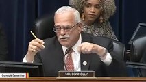 Rep. Gerry Connolly Tells Ex-ICE Chief Homan In Heated Exchange: 'You Are Not At The Border'