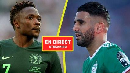 Suivez le match Algérie-Nigeria en DIRECT sur LGDF