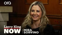 """""""It's very right now"""": Mira Sorvino on why 'Stuber' is a different kind of action film"""