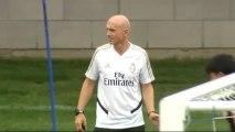 Bettoni dirige el entrenamiento del Real Madrid en ausencia de Zinedine Zidane