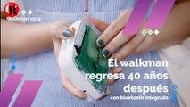 El walkman regresa 40 años después con bluetooth integrado
