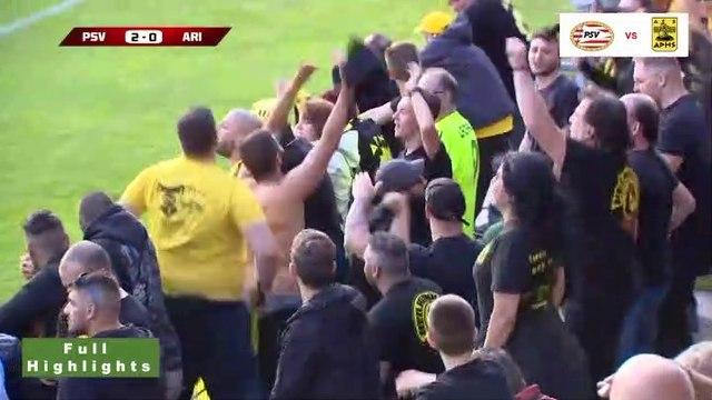 Αϊντχόβεν 3-0 Άρης - Πλήρη Στιγμιότυπα 12.07.2019