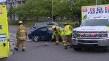 Trois véhicules impliqués dans une collision à Rivière-du-Loup