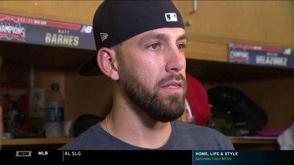 Matt Barnes Discusses Series With Dodgers