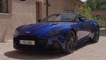Aston Martin DBS Superleggera Volante Design in Zaffre Blue