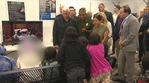 Mike Pence meets with migrants at detention facilities