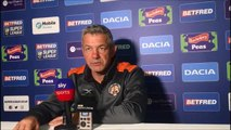 Castleford Tigers boss Daryl Powell after 36-16 win at Wakefield