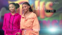 A LifeMinute with New The Little Mermaid Star Halle Bailey and Sister Chloe