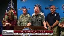 Louisiane: Des milliers d'habitants de Louisiane évacués cette nuit les zones côtières avant l'arrivée de la tempête tropicale Barry