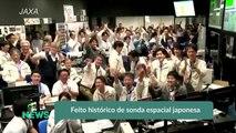 Feito histórico de sonda espacial japonesa
