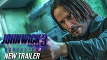 John Wick- Chapter 3 - Parabellum (2019 Movie) New Trailer – Keanu Reeves, Halle Berry