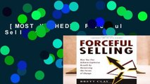 [MOST WISHED]  Forceful Selling