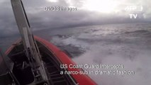 US Coast Guard stops suspected drug-smuggling vessel in striking intervention at sea