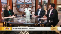 Rob Pelinka's latest quotes could be setting the Lakers up for failure - Dave McMenamin _ The Jump