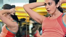 Rakul Preet singh Workout with her Brother (Telugu)