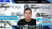 Diamondbacks Cardinals MLB Pick 7/13/2019