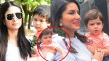 Taimur Ali Khan's resemblance with Sunny Leone's son will surprise you ; Check out | FilmiBeat