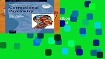 [NEW RELEASES]  Oxford Textbook of Correctional Psychiatry (Oxford Textbooks in Psychiatry)