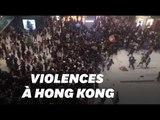 À Hong Kong, un centre commercial ravagé par les heurts entre policiers et manifestants