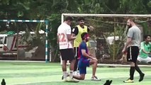 Ranbir Kapoor & His Team Practice Football Match