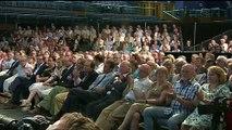 Boris Johnson heckled during leadership hustings event