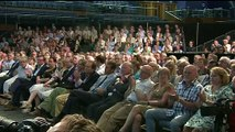 Boris Johnson heckled during leadership hustings event