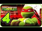Nickelodeon Teenage Mutant Ninja Turtles Walkthrough Part 4 (X360, Wii) 100% - Level 5