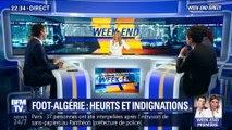 Foot-Algérie : heurts et indignations