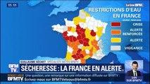Météo-France tire la sonnette d'alarme concernant la sécheresse