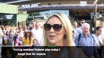 Centre Court fans savour Fedal XL