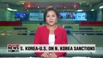 S. Korea, U.S. coordinating closely to fully implement N. Korea sanctions: Report