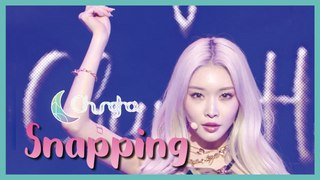 [HOT] CHUNG HA - Snapping,  청하 - Snapping  Show Music core 20190713