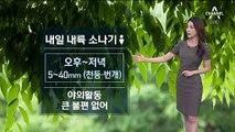 [날씨]주말 불청객 '소나기'…전국 낮 기온 30도 안팎