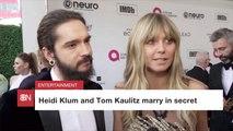 Heidi Klum And Tom Kaulitz Married In Private