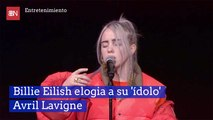 Billie Eilish elogia a su 'ídolo' Avril Lavigne