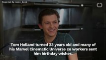 Zendaya Wishes Tom Holland Happy Birthday On Instagram