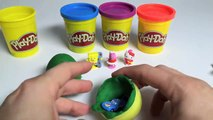 How to make Play Doh Surprise Eggs