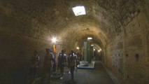 Inside the tunnels of Rome's ancient, extravagant Caracalla baths
