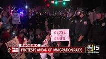 Lights of Liberty: Phoenix street in immigration protest