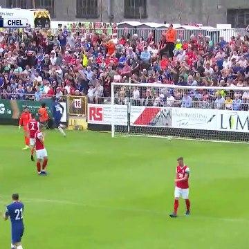 Mason Mount Goal - St Patricks 0 - 1 Chelsea (Full Replay)