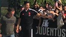 Les fans de la Juve en délire pour le retour de CR7 à l'entraînement