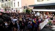 A Annecy, 600 personnes à la première Marche des fiertés