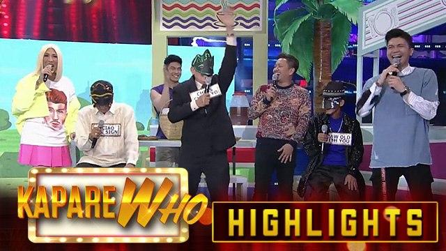 Vice Ganda, Vhong and Jhong likes how Senior KalaWhok answers | It's Showtime KapareWho