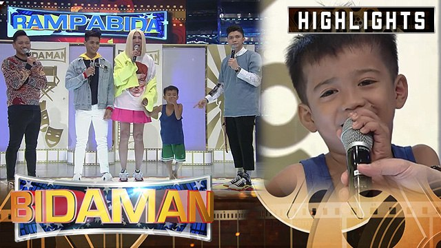 'Gigil kid' Carlo visits It's Showtime hosts | It's Showitme BidaMan