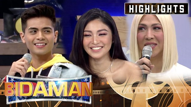 BidaMan contestant KD chooses among Vice Ganda and Nadine Lustre | It's Showtime BidaMan