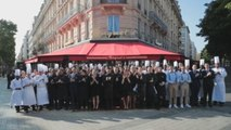 El restaurante Fouquet's de París reabre cuatro meses después de haber sido vandalizado